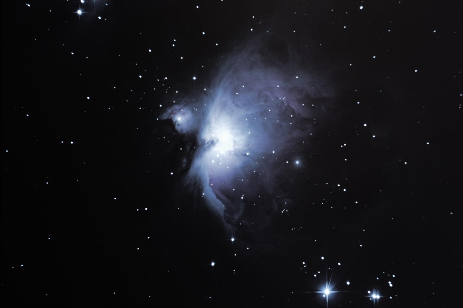 M42 M43 Great Orion Nebula, 12th Dec 2012