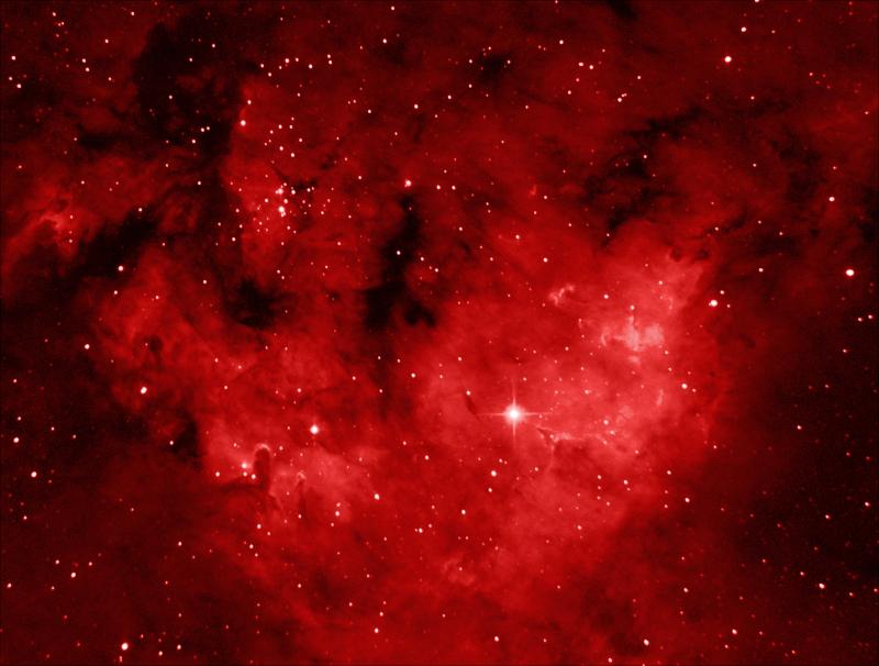 NGC 7822, emission nebula in Cepheus